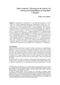 Smart contracts. Tokenización de activos y la tokenización inmobiliaria en Argentina y España