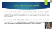 UINLs Good Practices Paper for the Prevention of Money Laundering and Terrorist Financing