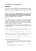 El documento notarial en formato electrónico.