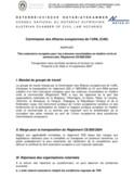 Le Règlement 805/2004 du 21 avril 2004 de l'Union Européenne sur la creation d'un titre exécutoire européen pour les créances incontestées en matière civile et commerciale.